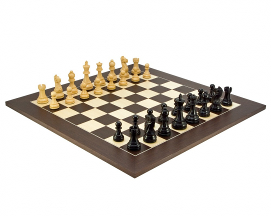 The Frankfurt Wenge Luxury Grand Chess Set