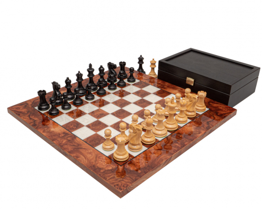 The Highgrove Briarwood Luxury Chess Set