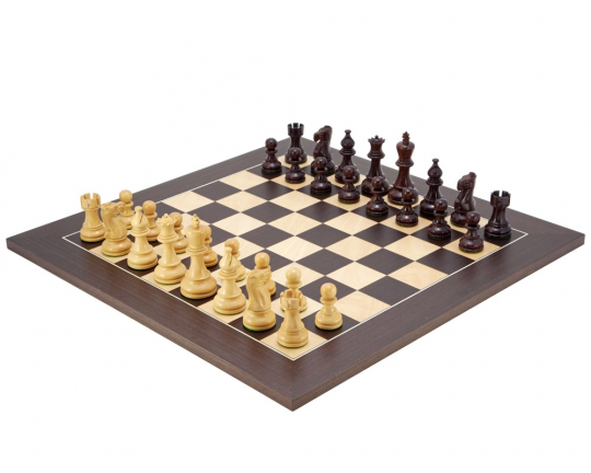 The Atlantic Chess Set in Rosewood