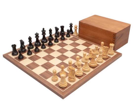Walnut Competition Staunton Chess Set