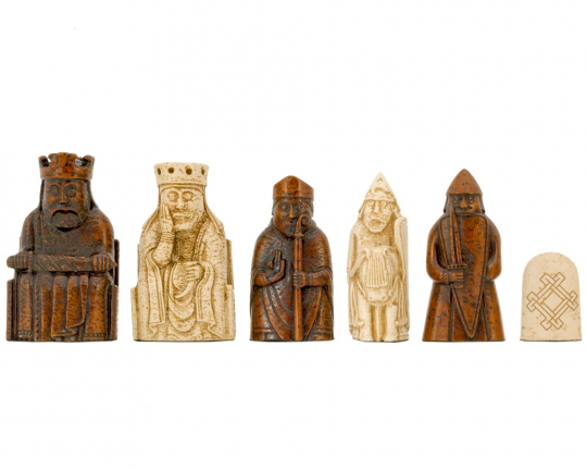 "Isle Of Lewis Chessmen 3.25"" By National Museums Scotland"