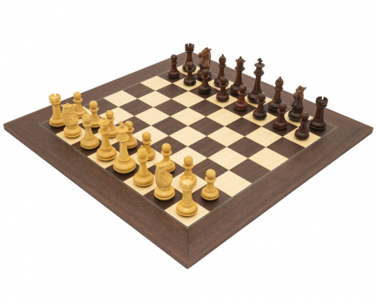 Palisander Templar Luxury Chess Set