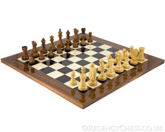 The Winchester Chess Set in Palisander