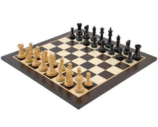 Ebonised Wenge Victoria Tournament Chess Set