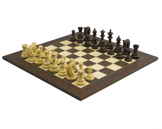 Lemington Rosewood Palisander Chess Set